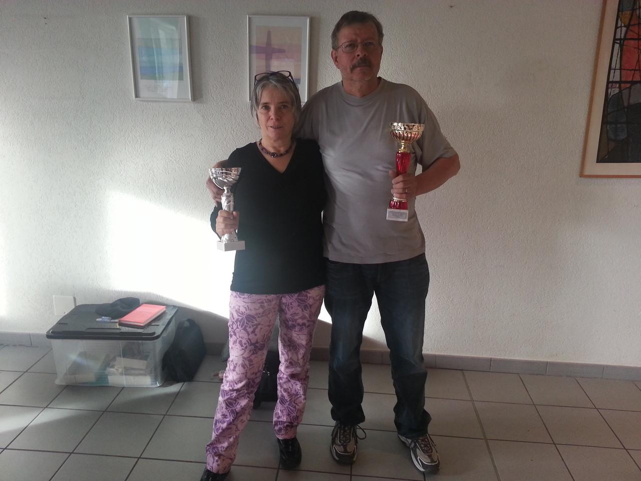 Marlyse Lathion et Pierre-Alain Duc