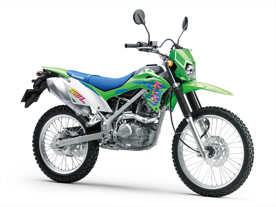 KAWASAKIのオフロードバイクKLX150L入荷予定