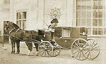 Kutsche um 1870 (Quelle: Wikipedia)