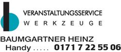 Heinz Baumgartner Veranstaltungsservice / Werkzeuge