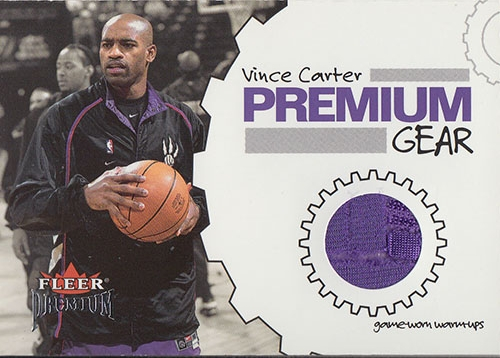2002-03 Fleer Premium Gear #2 Vince Carter