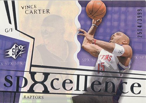 2003-04 SPx #95 Vince Carter