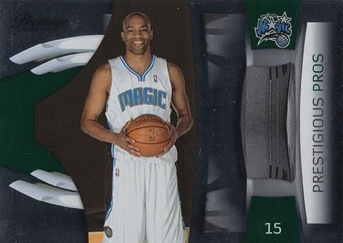 2009-10 Prestige Prestigious Pros Green #38 Vince Carter