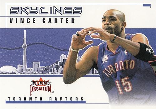 2002-03 Fleer Premium Skylines Ruby #3 Vince Carter