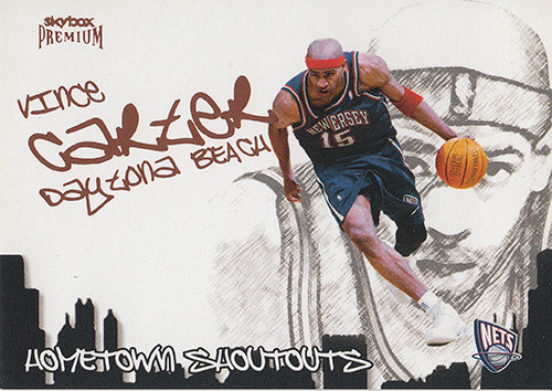 2004-05 SkyBox Premium Hometown Shout Outs #11 Vince Carter