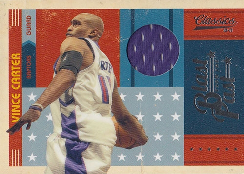2010-11 Classics Blast From The Past Jerseys #16 Vince Carter