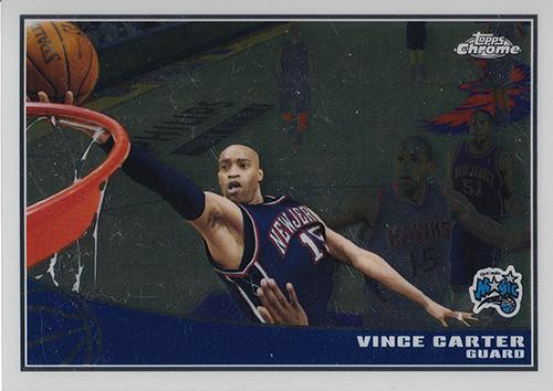 2009-10 Topps Chrome #60 Vince Carter