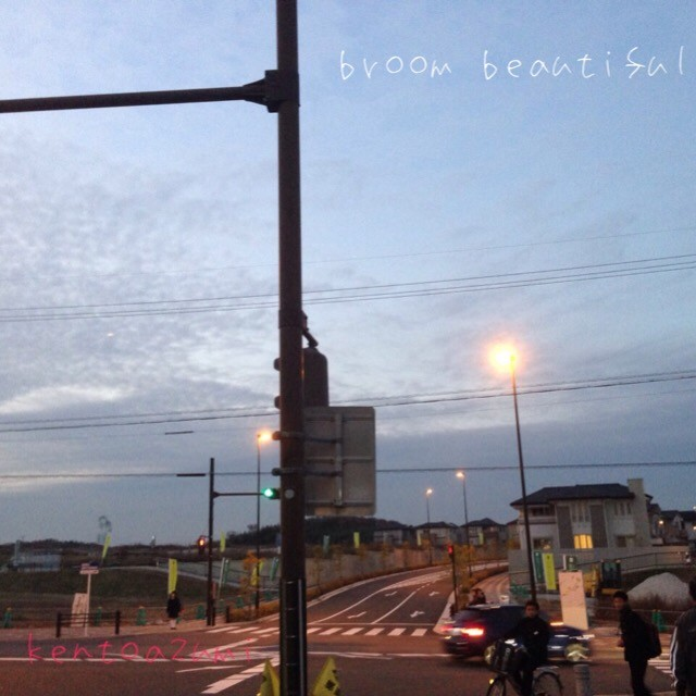 kentoazumi 2nd 配信限定シングル『broom beautiful』