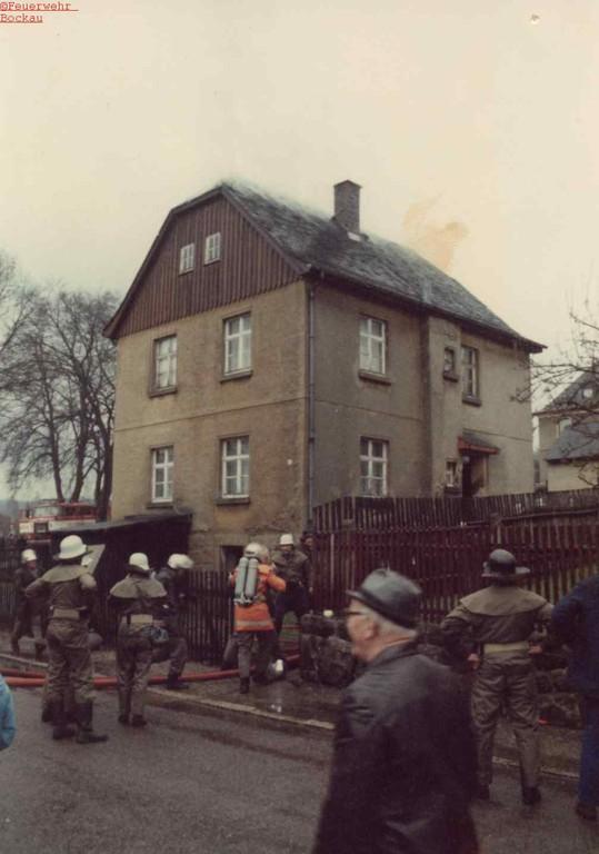 Wohnhausbrand Albernau