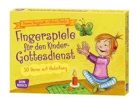 Kartenset Fingerspiele für den Kindergottesdienst