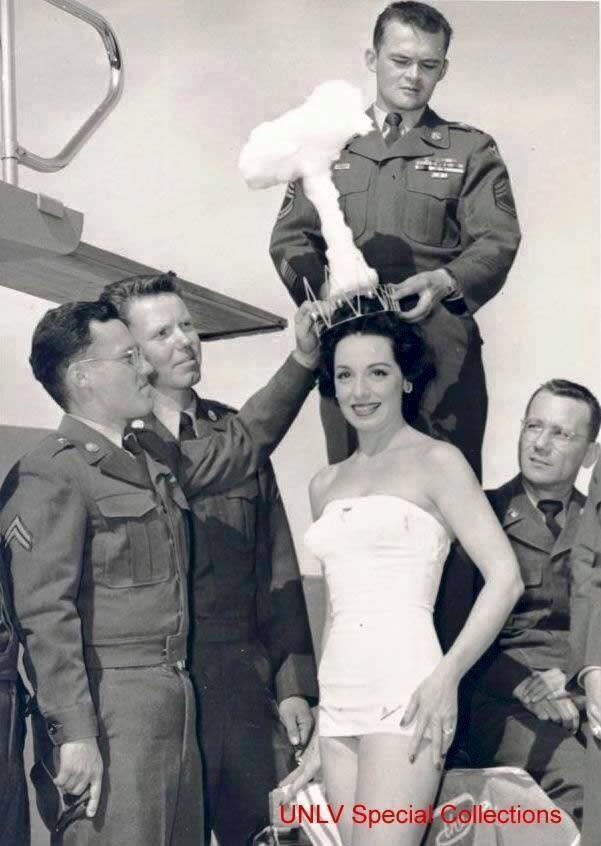 Miss bomba atomica nel 1950