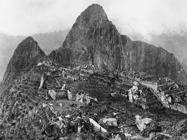 1912 Scoperta Machu Picchu in Perù