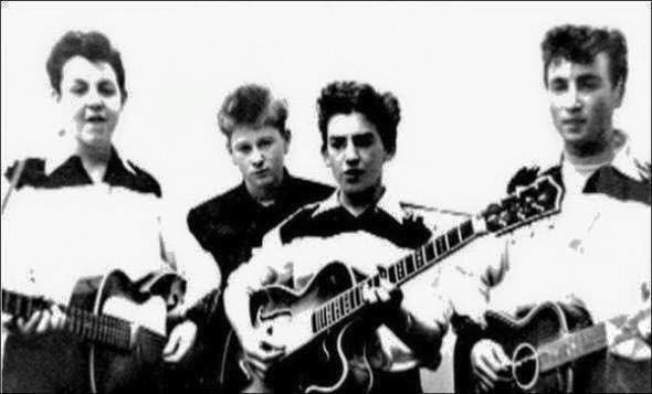 Inizio dei Beatles