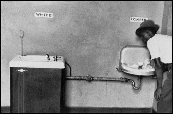 Differenza razziale nel sud degli Stati Uniti