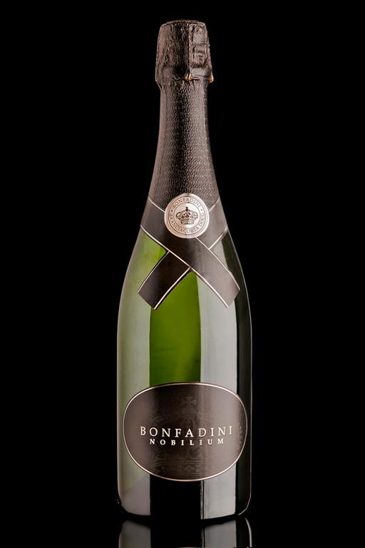 fotografie di bottiglie di vino, vini, bollicine, grappe, bottiglie di vetro in franciacorta, brescia, bergamo