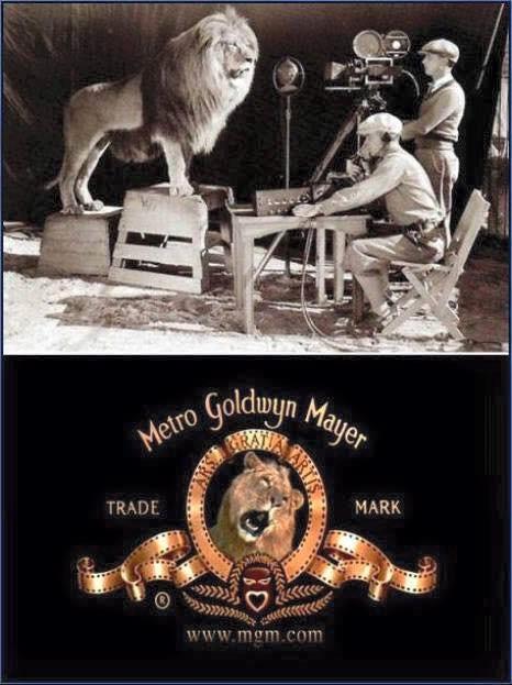 Filmando logo MGM