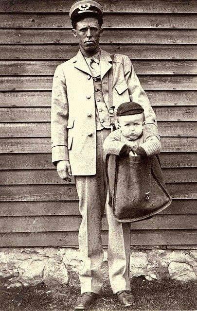 Fino al 1913 negli Stati Uniti era permesso inviare bambini per posta.