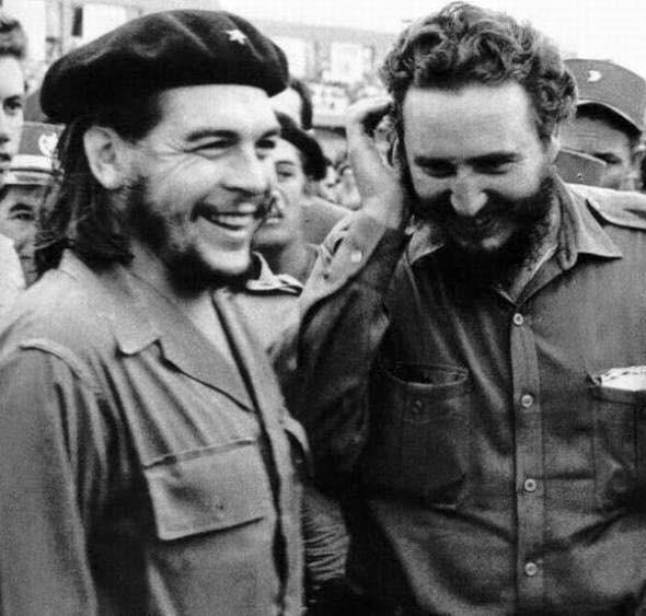 Il Che Guevara e Fidel Castro