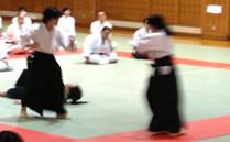 写真:横浜市合気道連盟演武会2013東洋英和