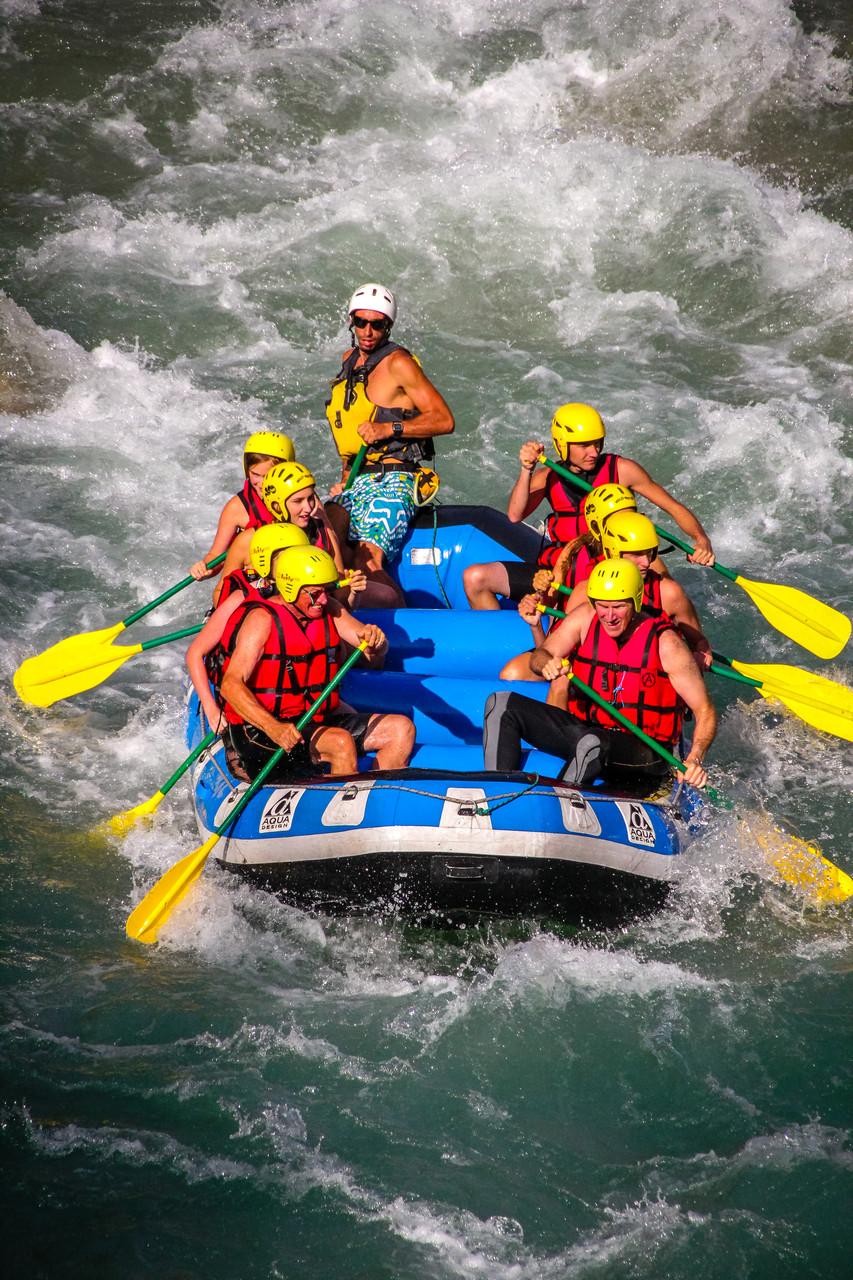 Rafting EVG fun et sportif