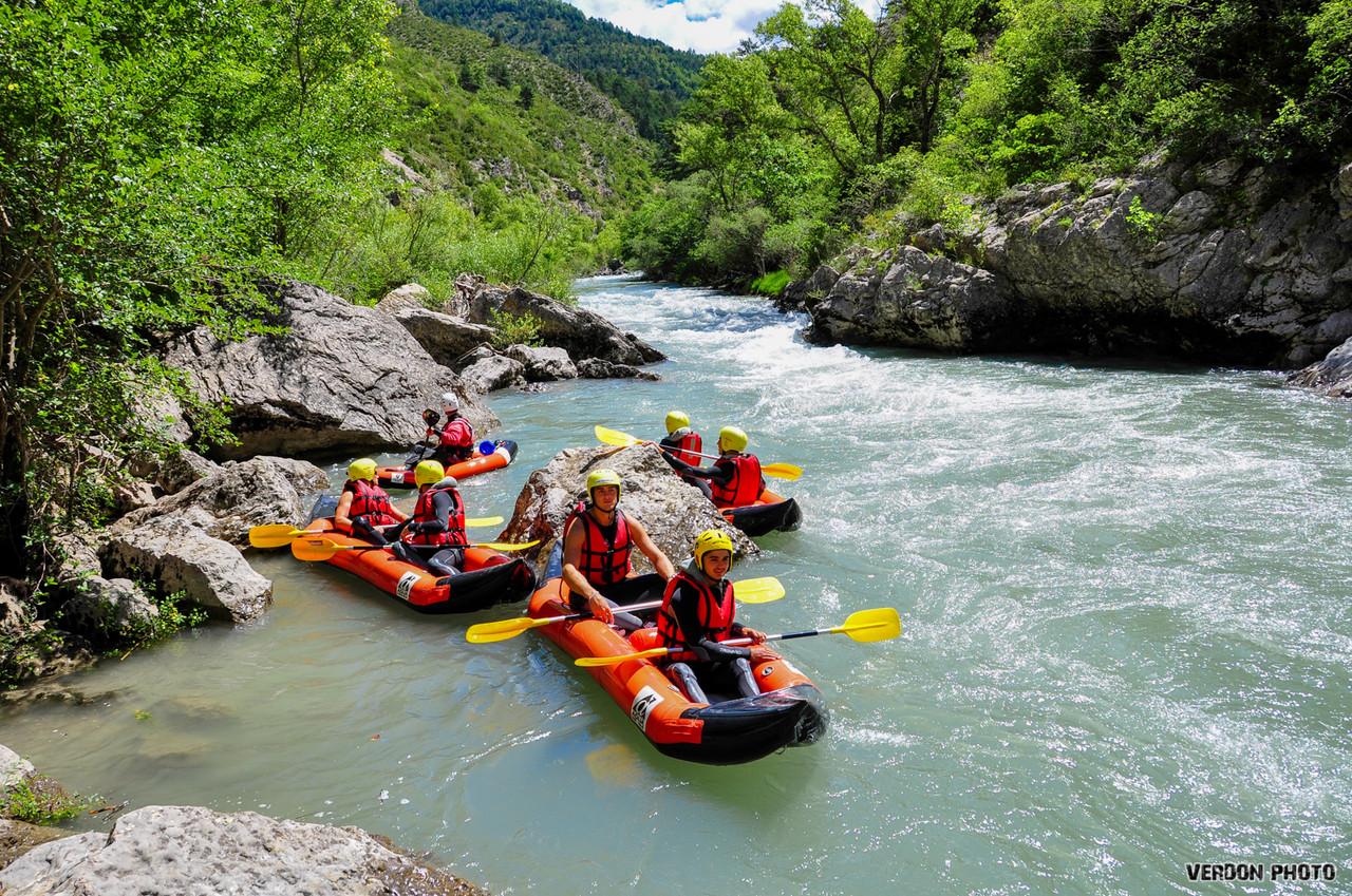 Airboat canoe kayak verdon gorge raft session - Location gorge du verdon avec piscine ...