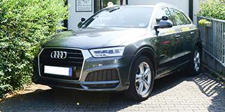 Audi SQ3 Fahrschul-Auto Ulm und Thalfingen