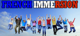 Kids jumping for joy to learn French.