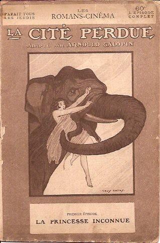 12 fascicules, assez grand format, datant de 1921 d'un film de la Gaumont.