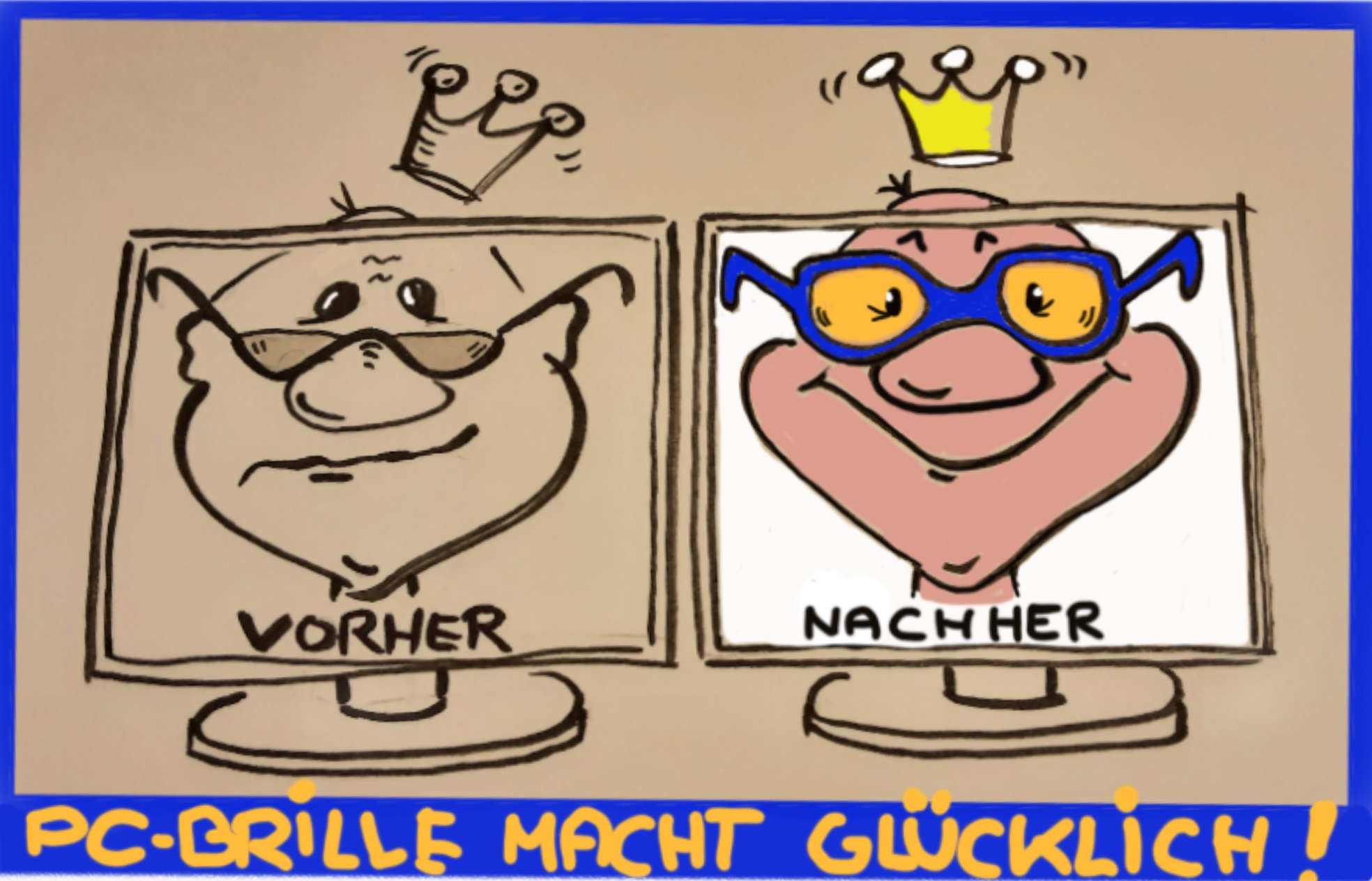 PC-Brille, Bildschirmarbeitsplatzbrille, Computerbrille, Bildschirmbrille....