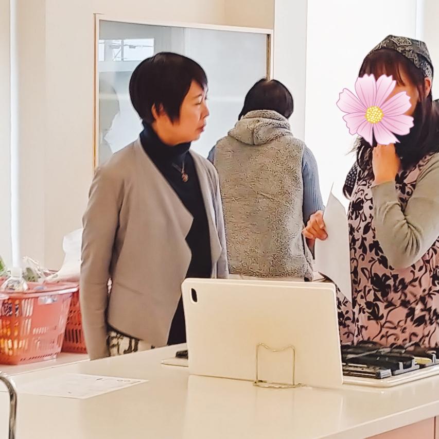 加藤初美先生 自然食クッキング