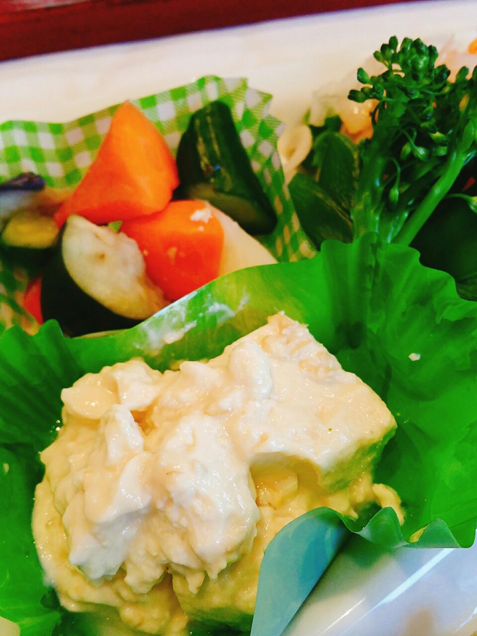 豆腐の糀づけ チーズ風 自然食 和食 玄米食