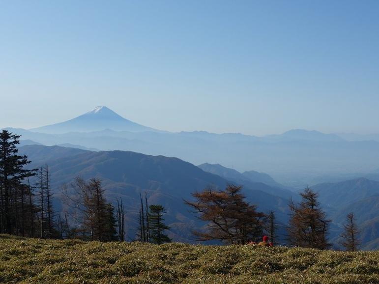 古礼山からの秀麗富士