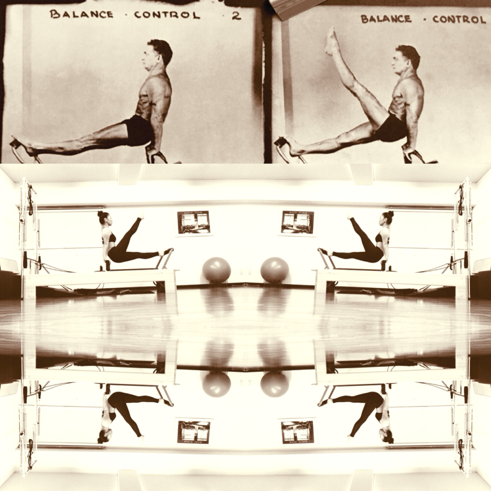 ジョセフ・ピラティス/ポストカード/balance control