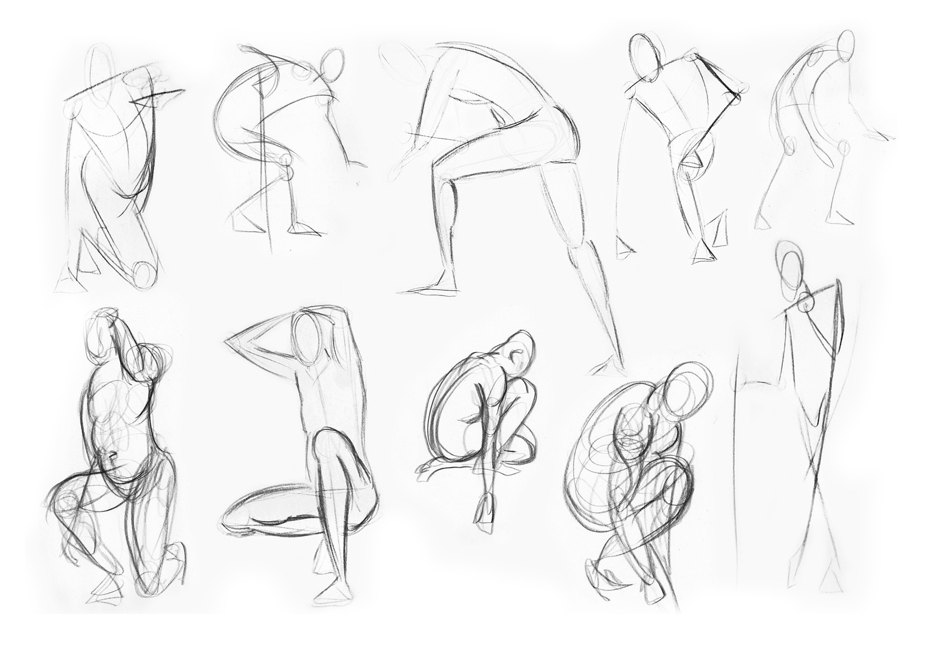 30 seconds poses