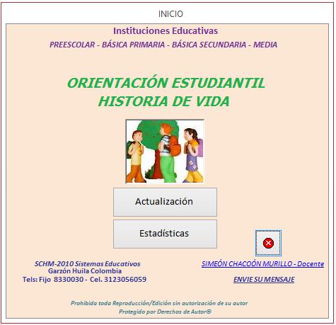 Un aplicativo para administrar la información de los educandos