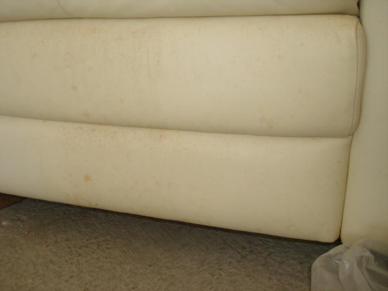 Limpiar sofa piel blanco fabulous cmo quitar manchas de - Como limpiar un sofa de piel blanco ...