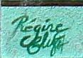 signature de l'artiste avec date : 87
