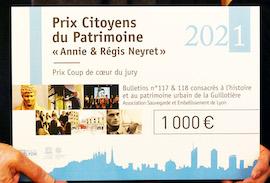 Prix Citoyens du Patrimoine 2021 : un coup de coeur pour SEL