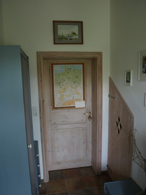 Die Deutschlandkarte mit den Ortsmarkierungen der Gäste