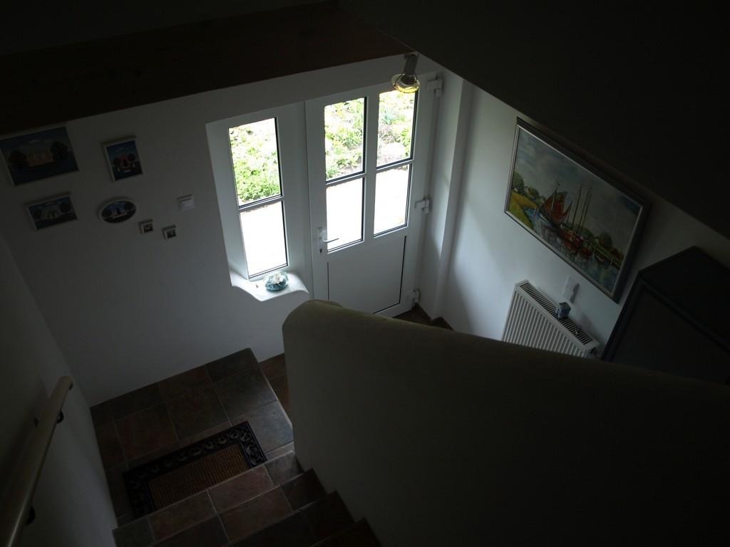 Eingang von oben gesehen