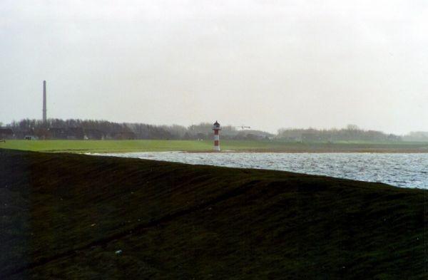 Hochwasser - das ging schon mal wesentlich schlimmer.