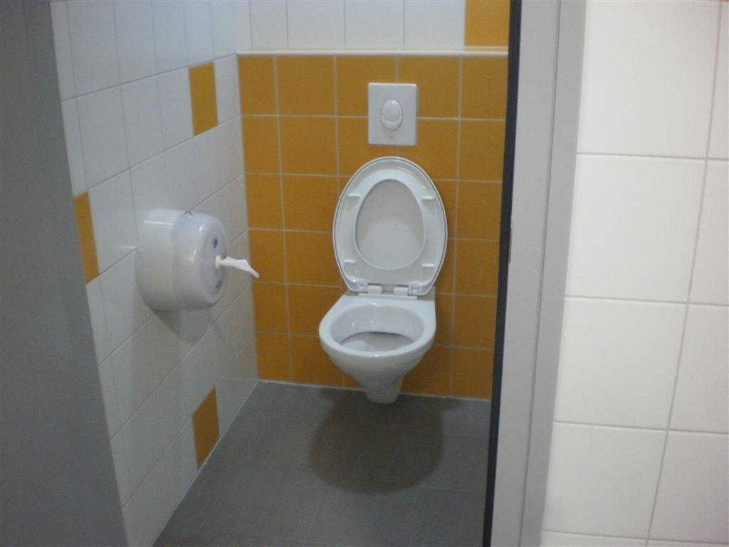 Lundi 3 septembre: Livraison des nouveaux sanitaire de l'école