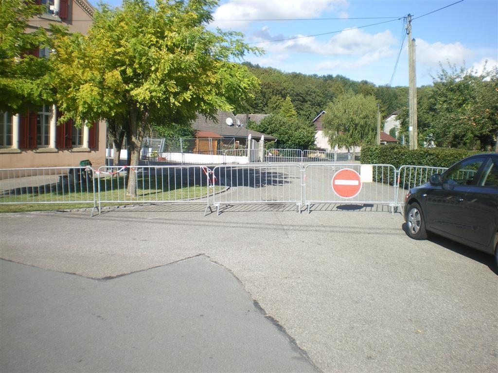 05.09.2011 interdiction de circuler sur cette portion de la rue Haute (arrêté municipal)
