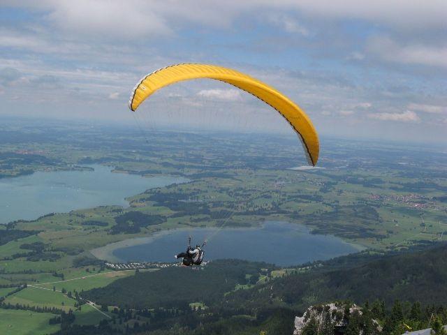 Drachenflieger am Tegelberg