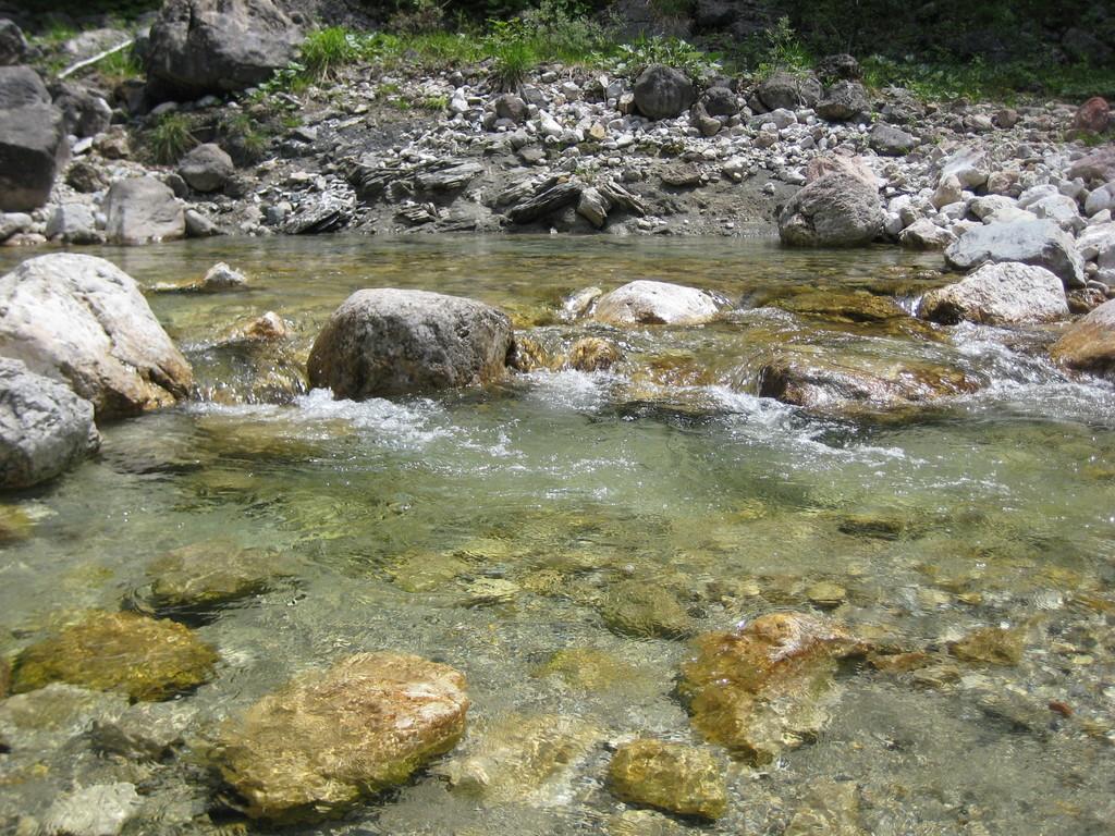 Klare Flüsse