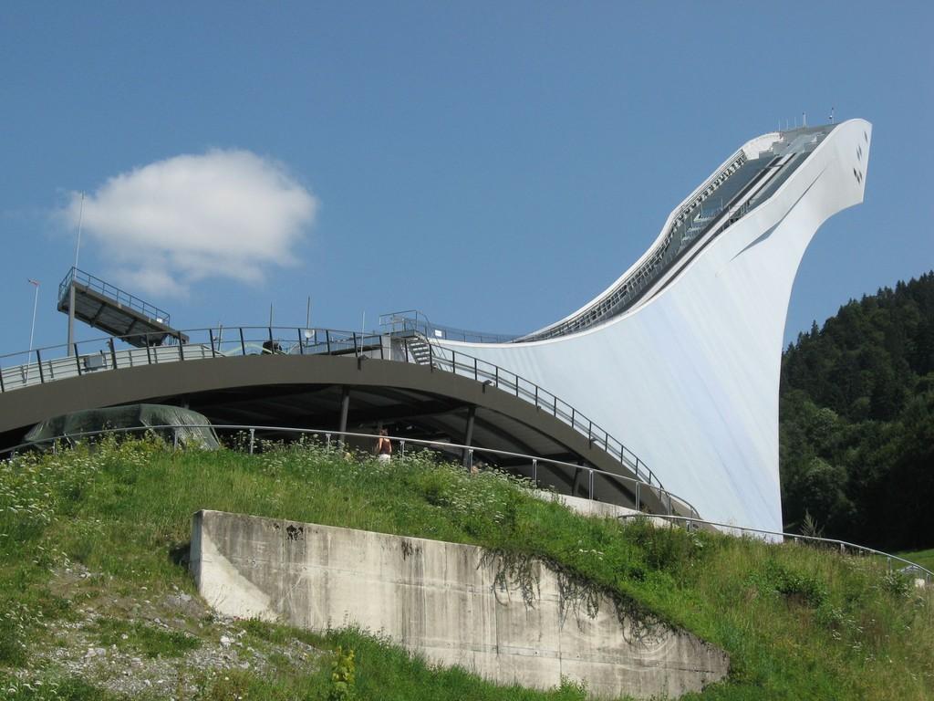 Olympiaschanze in Garmisch-Partenkirchen