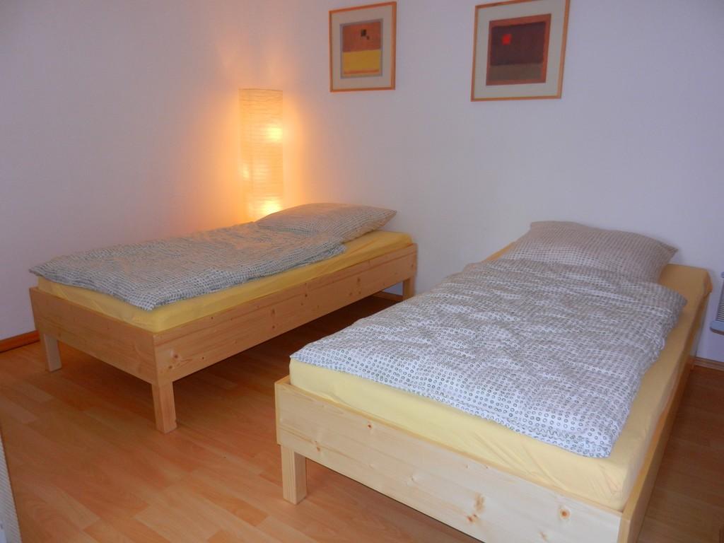 Betten als 2 Einzelbetten