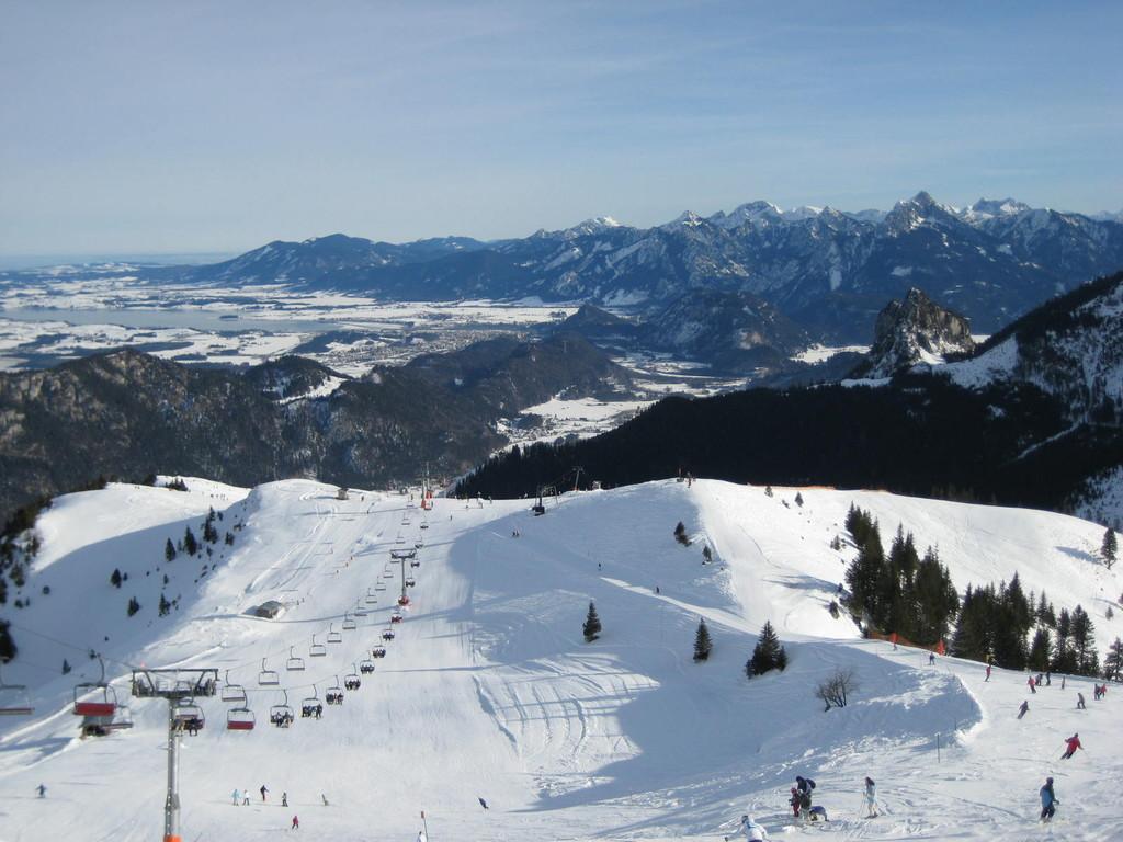 Skifahren in Pfronten