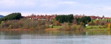 Ansicht vom Lechsee aus