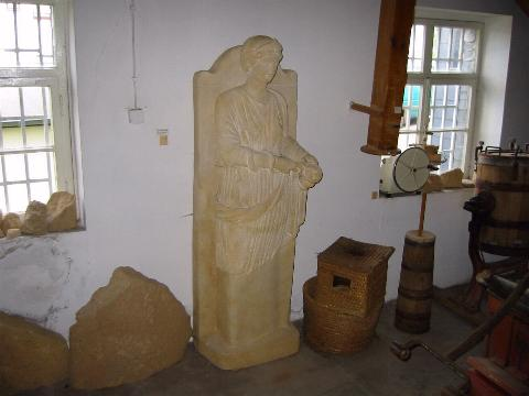 Quellgöttin Sirona in der Heimatkundlichen Sammlung